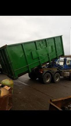 picture of skips for scrap metal in cheshire